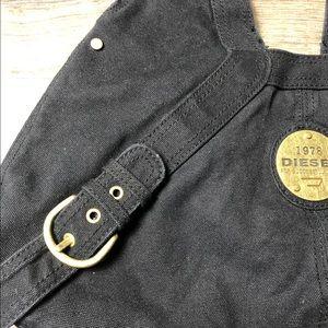 """Diesel Bags - Diesel Black Boho Bag """"1978"""" EUC"""